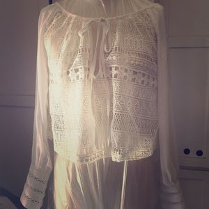 White Millau Top